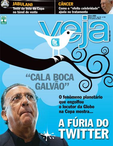 Capa - Revista Veja