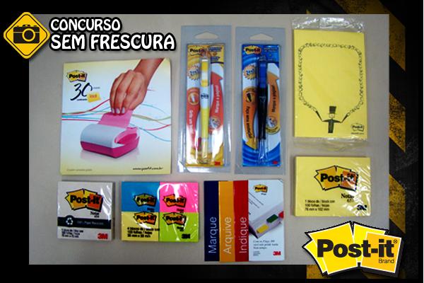 Concurso Sem Frescura - Prêmios